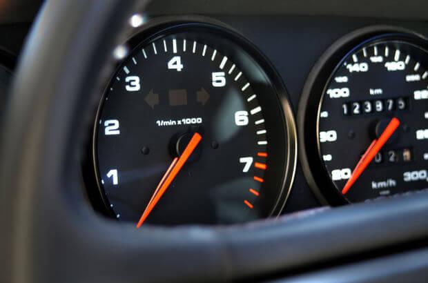 Benzinli Araç Devir Göstergesi